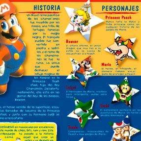 Mario Bros Flyer