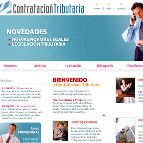Contratación Tributaria Website Draft