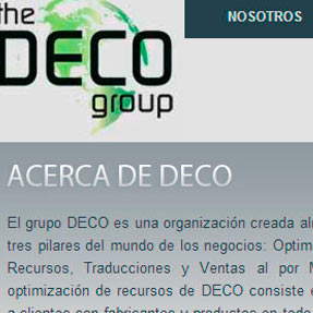 The Deco Group Website