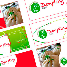 Dumpling Business Cards