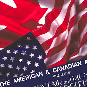 Country Fair and Picnic of the American and Canadian Association Flyer