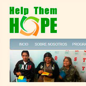 Help Them Hope website