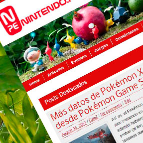 Nintendo.pe Website